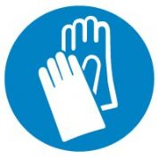 Mandatory Safety Sign - Hand protection 006